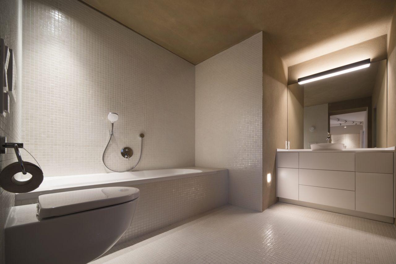 Badezimmer Tirol