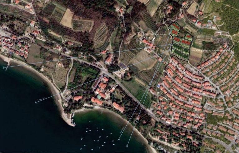 Wohnsiedlung mit Meerblick Koper Slowenien